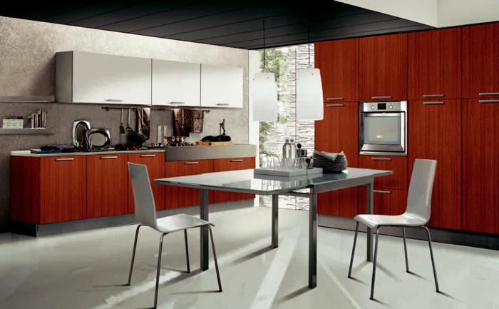 küchendesign frische küchenschränke stilvolle einrichtung