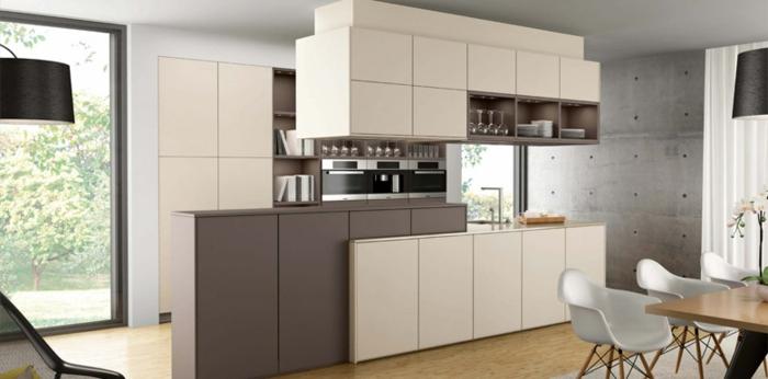 küchenmöbel kaufen elegante einrichtung esstisch