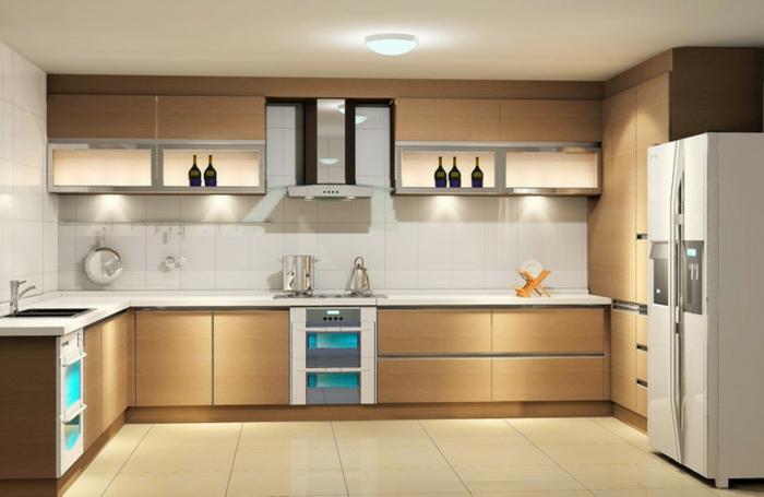 küchenmöbel kaufen led beleuchtung fliesen