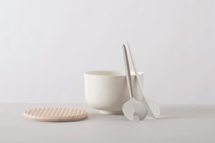 küchenzubehör designer geschirr porzellan holz