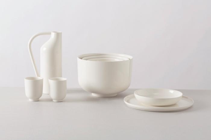 küchenzubehör designer geschirr set aus porzellan