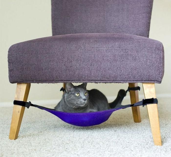 katzenmöbel katzenbett versteckung sessel