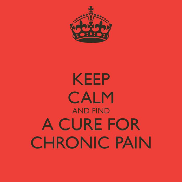 keep calm chronische schmerzen