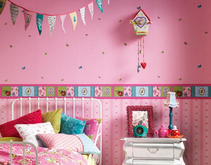 liebevolle kinderzimmer wandgestaltung welche lustige stimmung bringt. Black Bedroom Furniture Sets. Home Design Ideas
