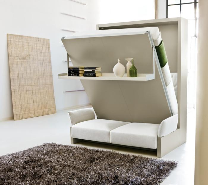 wohnzimmer mit schlafzimmer wohndesign - Wohnzimmer Mit Schlafzimmer