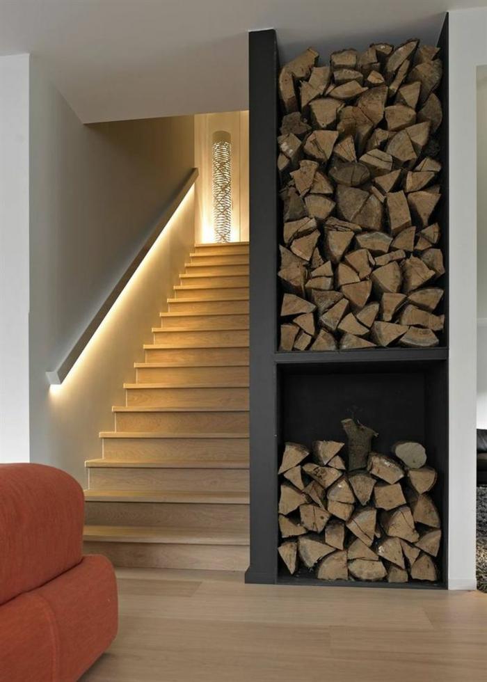 Wundervolle treppenbeleuchtung magie und zauber ins for Spot pour escalier interieur