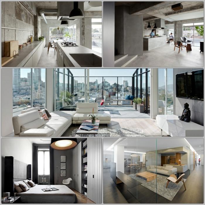 industrial m bel in 10 beeindruckenden loft wohnungen weltweit. Black Bedroom Furniture Sets. Home Design Ideas