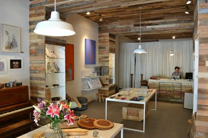 Wandverkleidung Holz Selber Machen ~ Nachhaltige Gartenmöbel komplett aus Europaletten gebaut