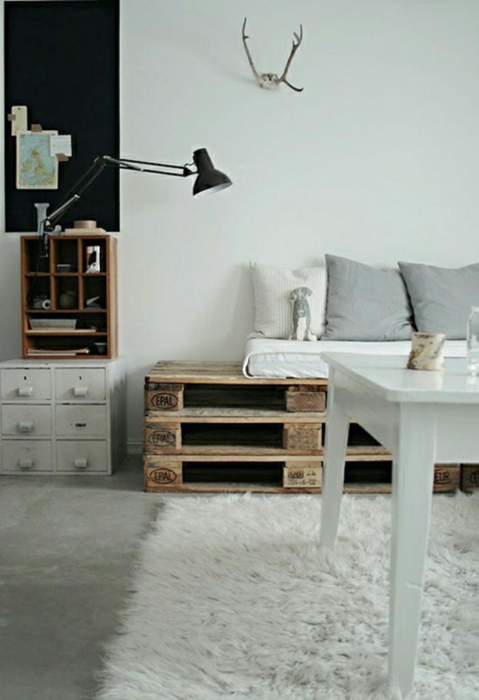 möbel aus paletten sofa europaletten selber bauen