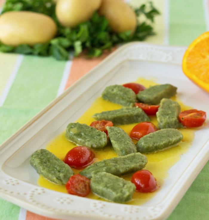 matcha tee gesund kochen gnocchi