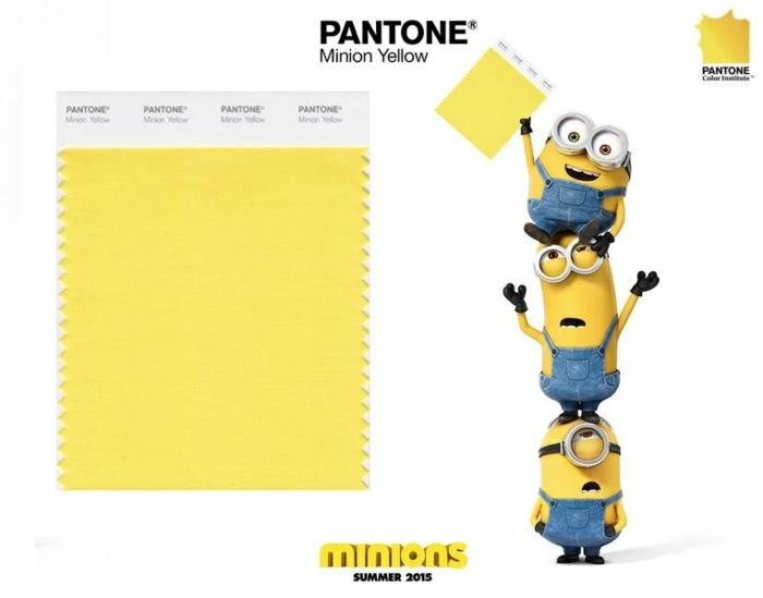 minion pantone farben gelb minion kostüme