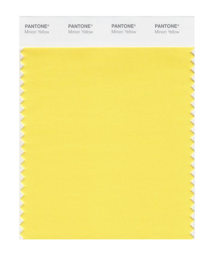 minions pantone farben trendfarben gelb minion kostüme