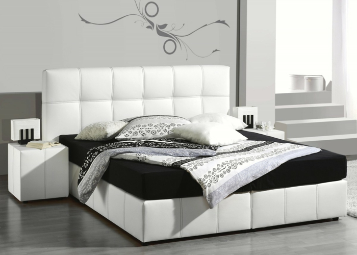 das boxspringbett modernes bett welches schick und komfort vereinigt. Black Bedroom Furniture Sets. Home Design Ideas