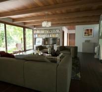 Moderne Doppelhäuser am Wasser bieten Komfort und Gemütlichkeit