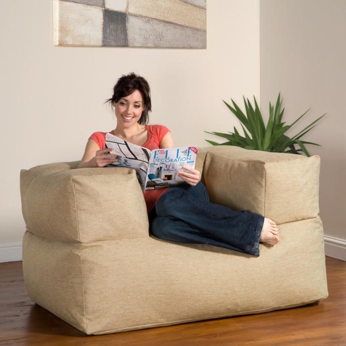 moderne möbel sitzpuffs armlehnen bequem wohnzimmer