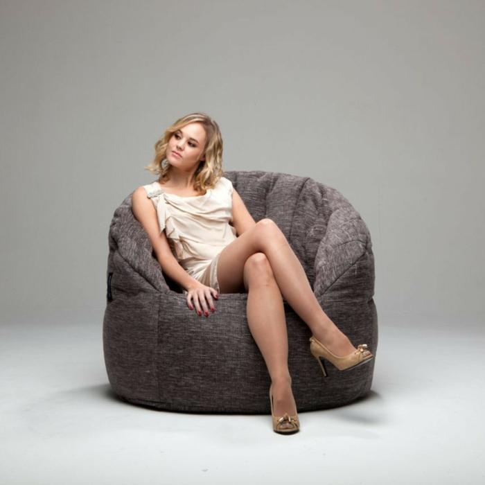 moderne möbel sitzpuffs cooler sessel elegant