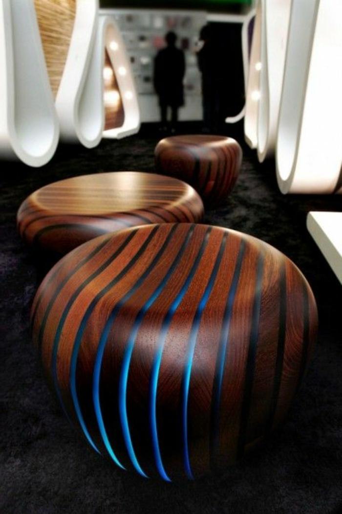 Moderne Stühle Ausgefallene Hocker Leuchtend