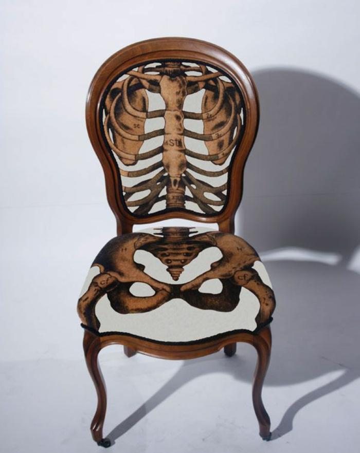 moderne stühle gerippe modell schöne wohnideen