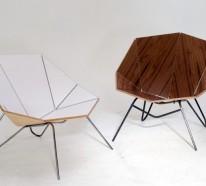 Moderne Stühle und Sitzmöbel, die Ihre Aufmerksamkeit fesseln
