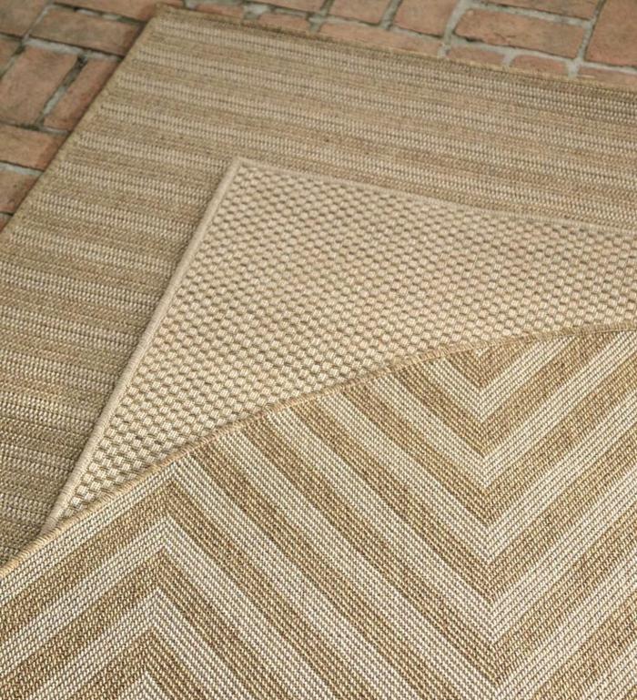 moderne teppiche außenmöbel materialien rattan