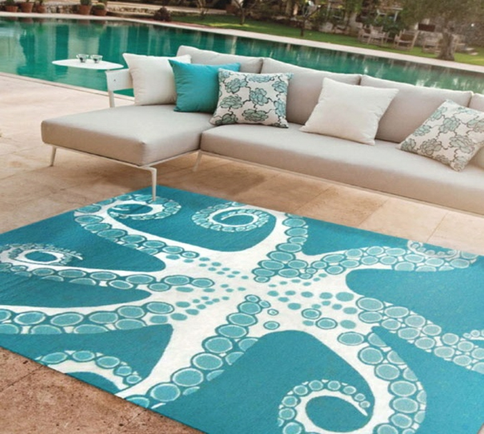 moderne teppiche traumteppich maritimer outdoor teppich