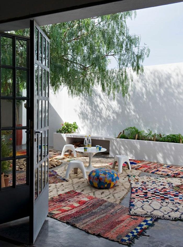 moderne teppiche und läufer terrasse traumteppich
