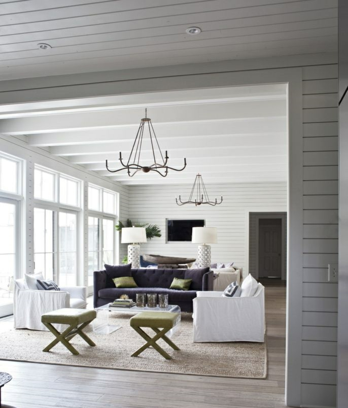 Moderne Teppiche verleihen dem Außenbereich einen coolen Look