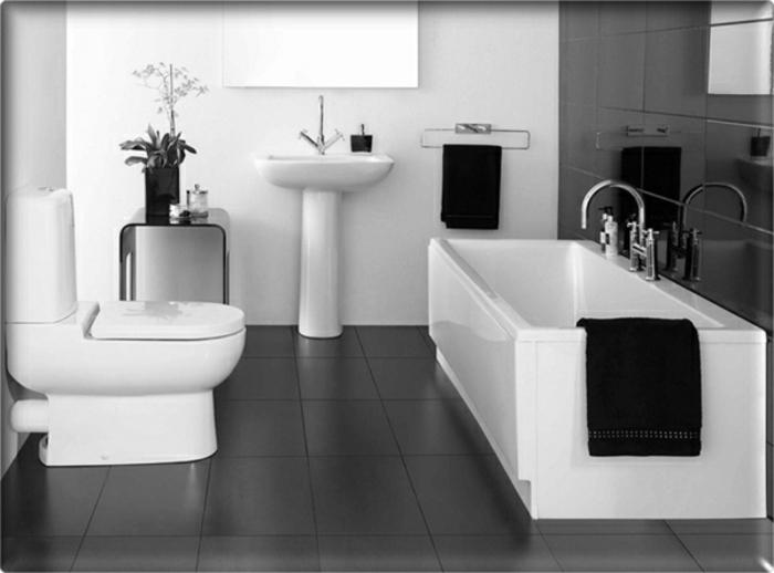 modernes bad einrichten badegestaltung badmöbel weiß