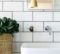 Modernes Bad mit frischer Ausstrahlung: 20 Badgestaltung Ideen
