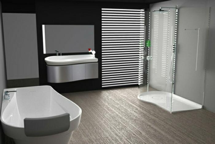Modernes bad for Bathroom design interactive
