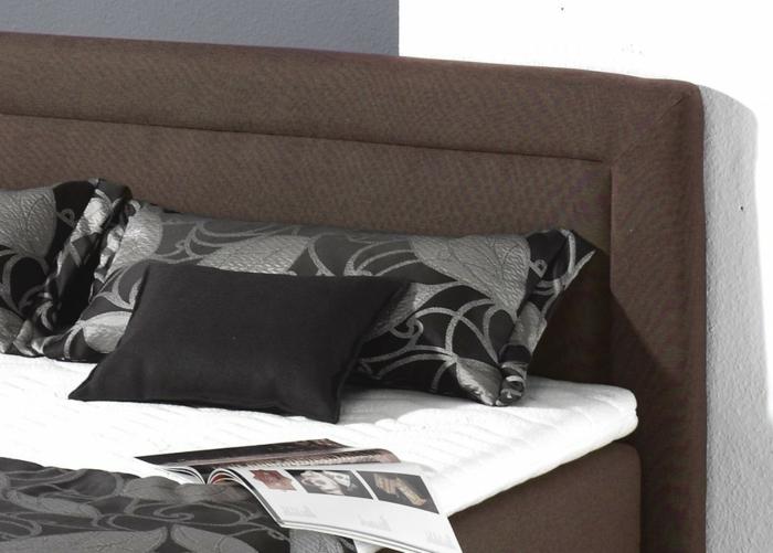 Boxspringbett Faggioni modernes bett schlafzimmer einrichten