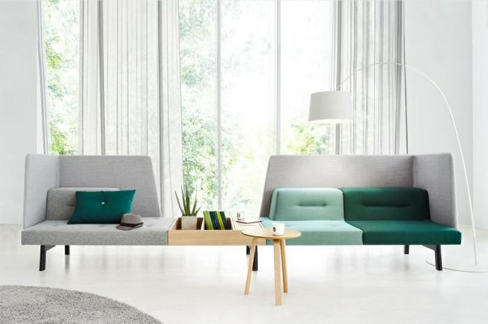 modulares sofa und designer büromöbel beistelltisch holz