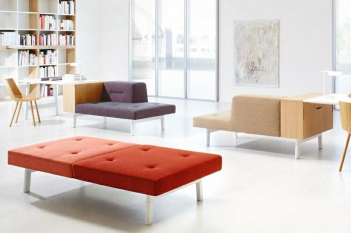modulares sofa und designer büromöbel ecksofa mit schreibtisch