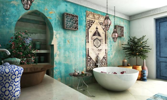 orientalische deko hängeleuchten metall wanddeko ethno muster