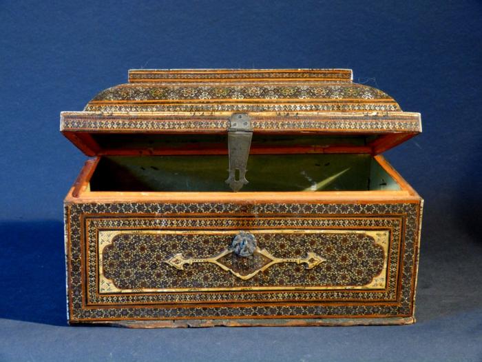 orientalische deko holztruhe persisch