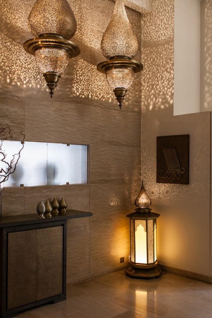 orientalische lampen laternen aus marokko einrichtungsideen