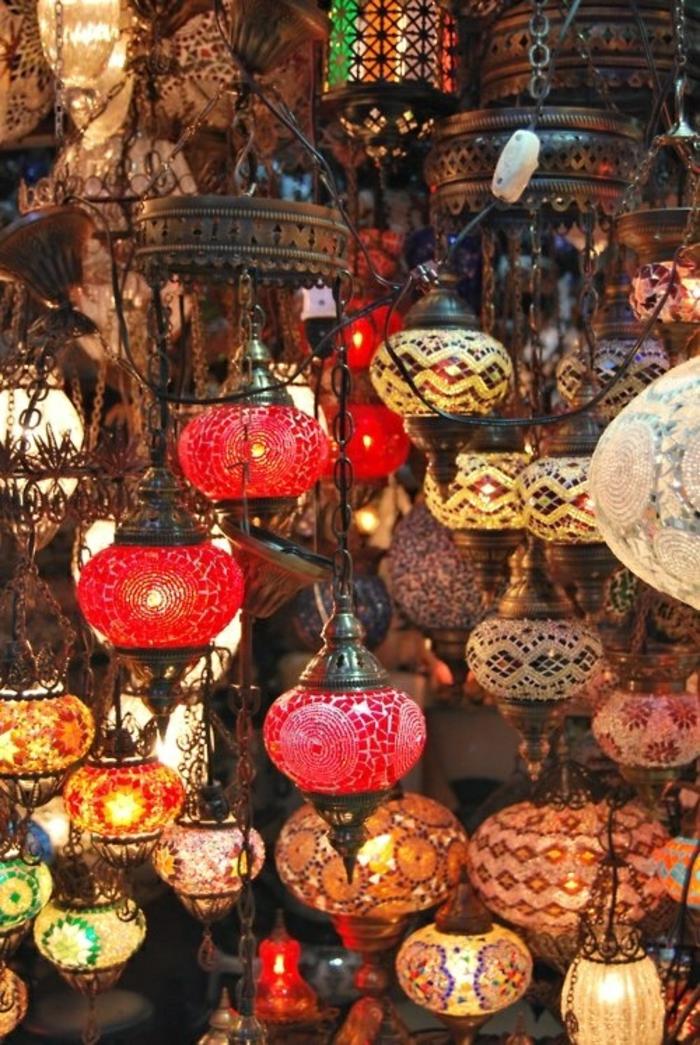 orientalische lampen laternen inspiration aus marokko