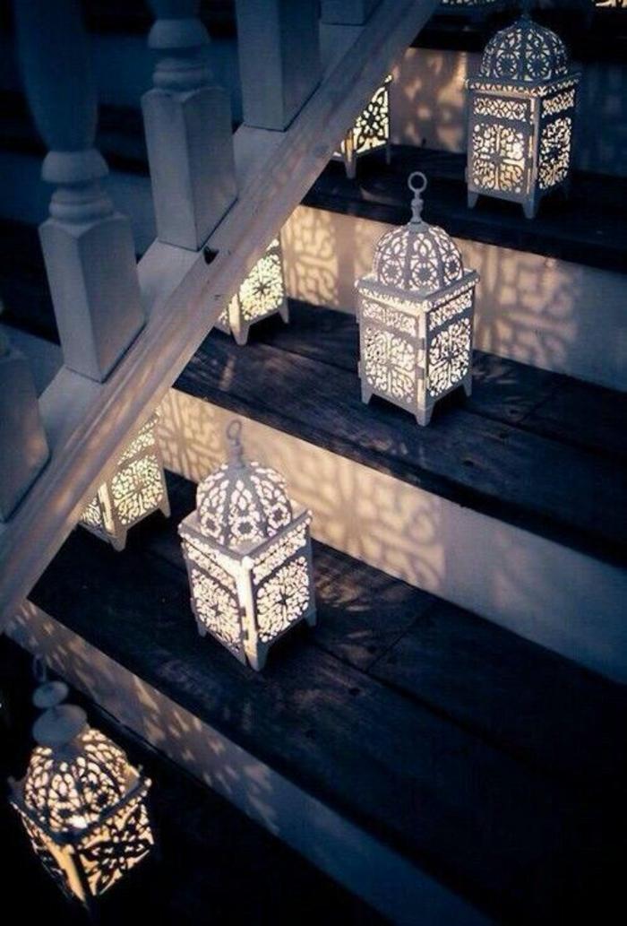 orientalische lampen und laternen eingangsbereich erhellen
