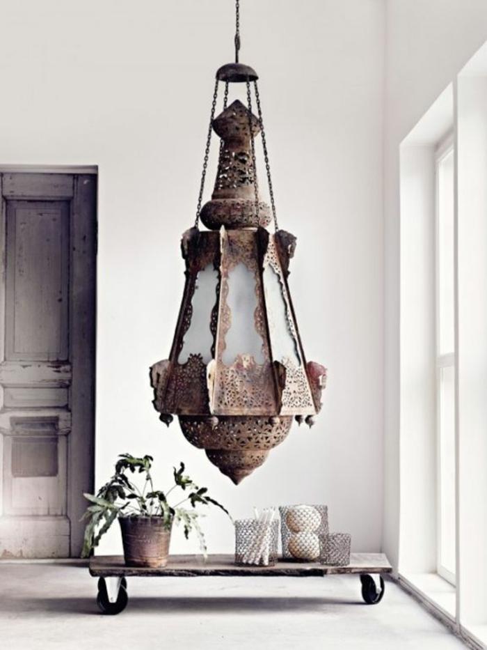 orientalische lampen und laternen riesengroße leuchte