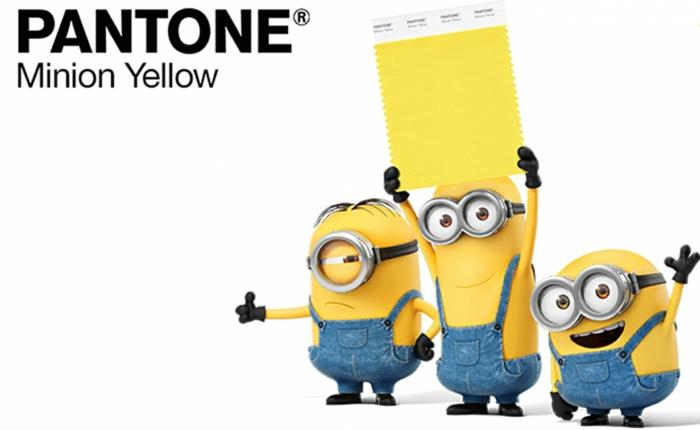 pantone farben trendfarben gelb minion kostüme