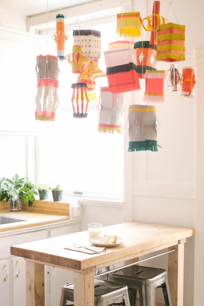 papierlampen hängelampen papierlaternen bunt