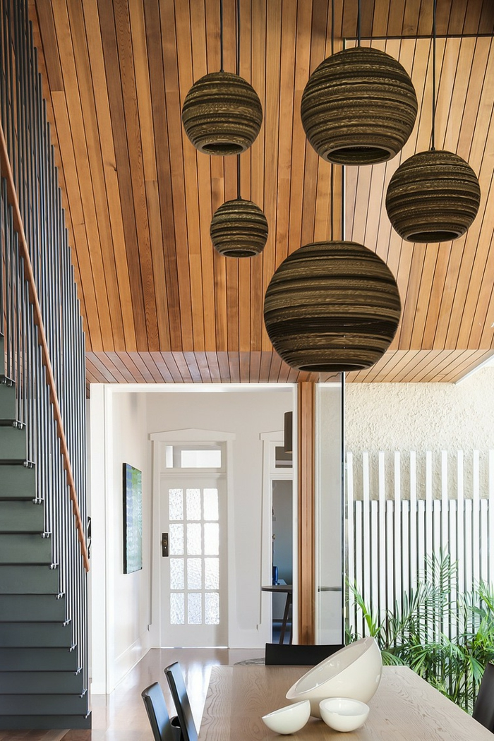 pendelleuchte design schicke hängelampen modernes innendesign