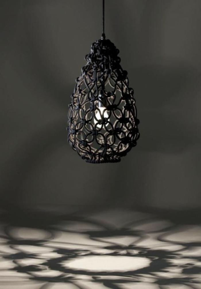 pendelleuchte schickes design schwarz elegant