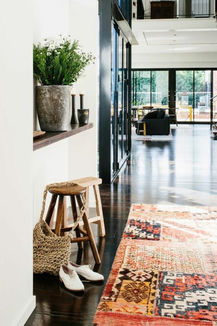 perserteppiche wohnzimmer vintage teppich verlegen