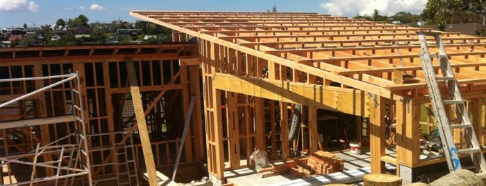 pultdach konstruktion geneigte dachfläche