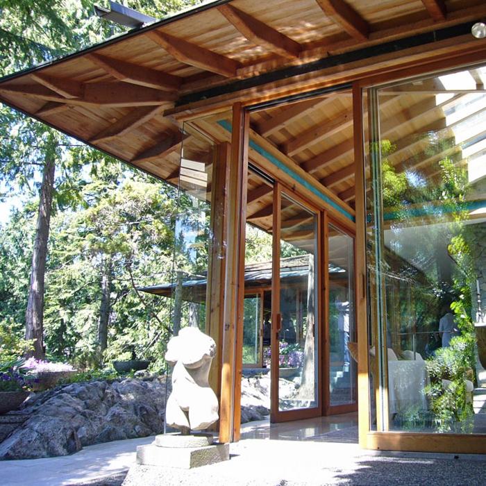 Das pultdach eine recht pfiffige dachform f r ihr haus - Raumhohe fenster ...