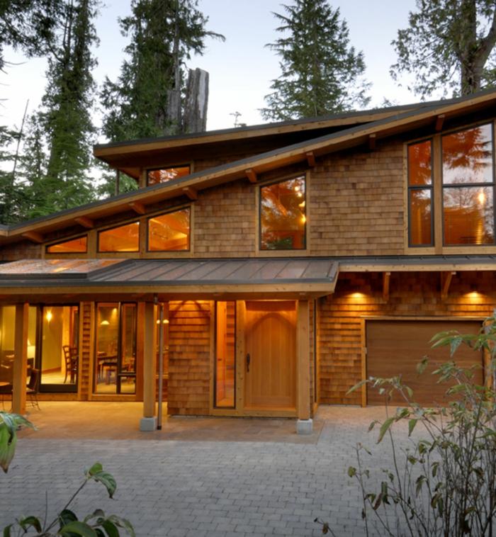 Das pultdach eine recht pfiffige dachform f r ihr haus for Haus design moderne architektur