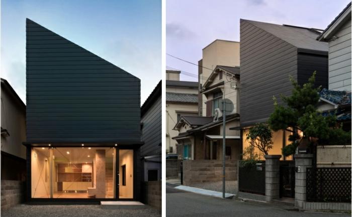 Modernes holzhaus pultdach  Das Pultdach - eine recht pfiffige Dachform für Ihr Haus