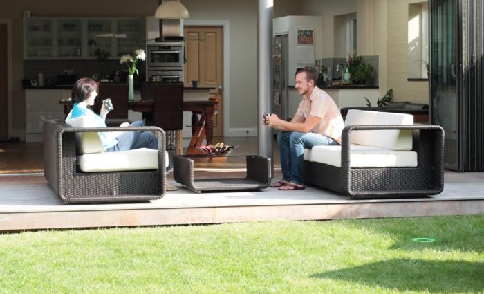rattan gartenm bel reizvolle au enm bel f r den garten. Black Bedroom Furniture Sets. Home Design Ideas
