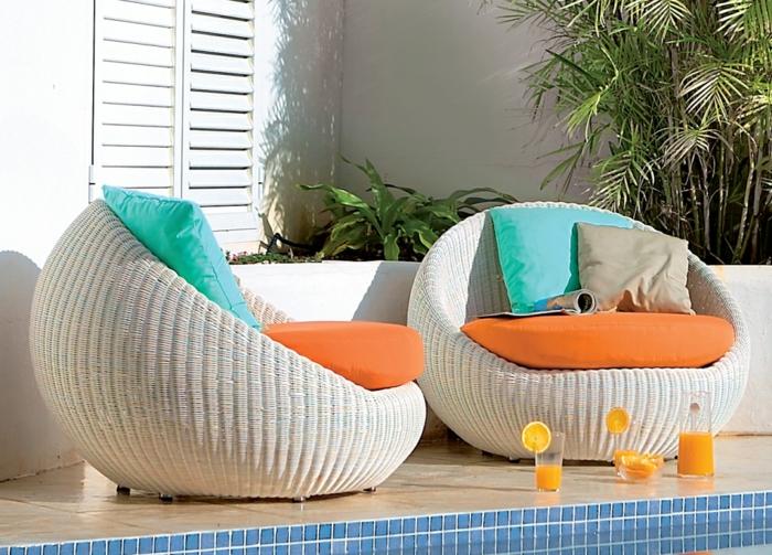 Rattan Gartenmöbel - Reizvolle Außenmöbel für den Garten auswählen!